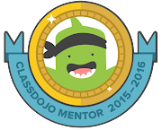 I'VE BEEN AWARDED CLASSDOJO MENTOR.