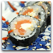 Homemade Sushi JB Roll