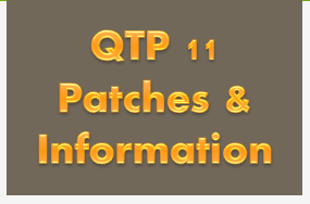 UFT/QTP Patches: List of All Latest Patches and Service Packs