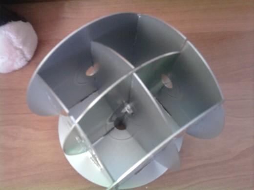 Как сделать органайзер из дисков своими руками 40