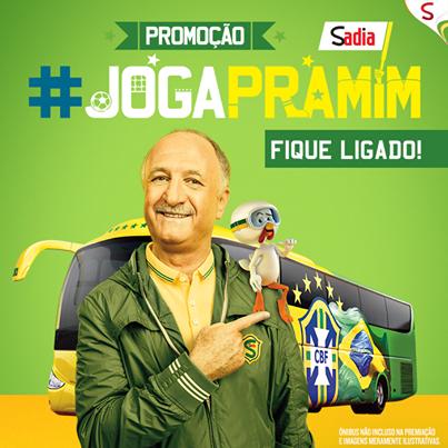 Participar promoção Sadia 2014 Joga Pra Mim