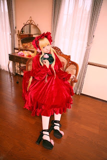Rozen Maiden Shinku cosplay by Arisa 1