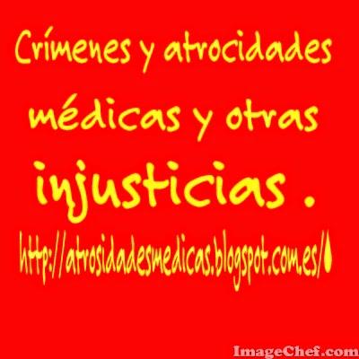 Crímenes y atrocidades médicas