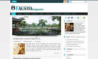 Fausto WordPress Theme