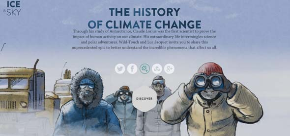 Ice and sky : The history of climate change