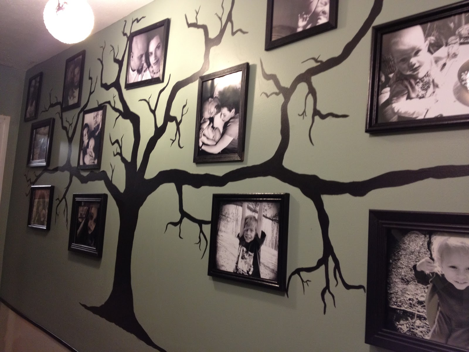 Entergently Our Family Tree Wall