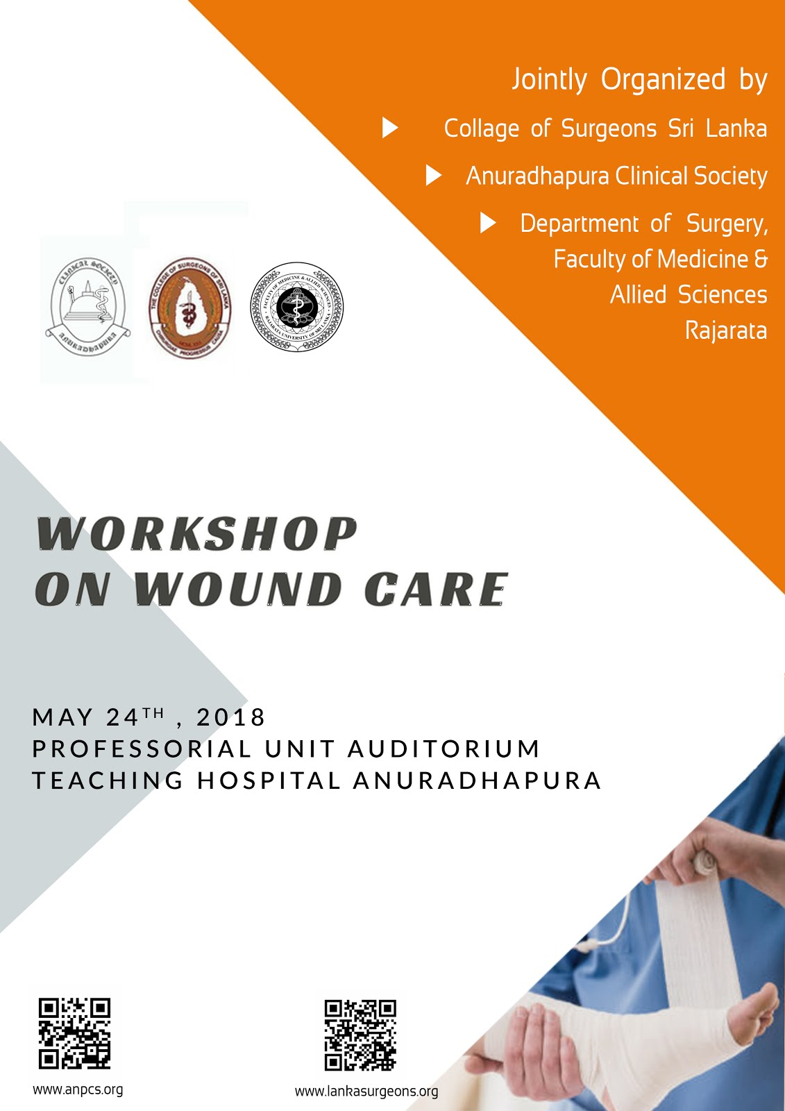 Workshop on Wound Care