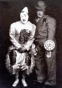 Duo de clowns Antonet et Beby