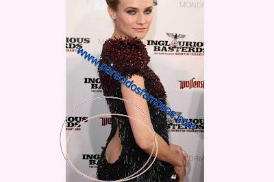Diane Kruger descuidos de Famosos
