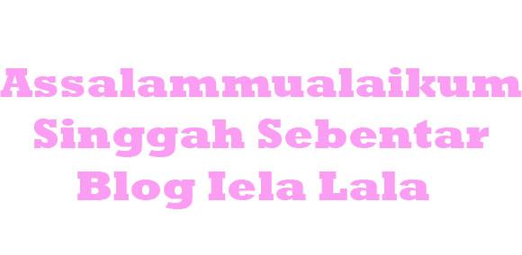 Iela Lala Blog