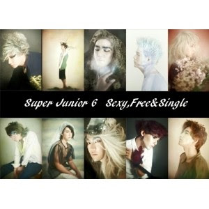 Super Junior - Sexy, Free & Single cover
