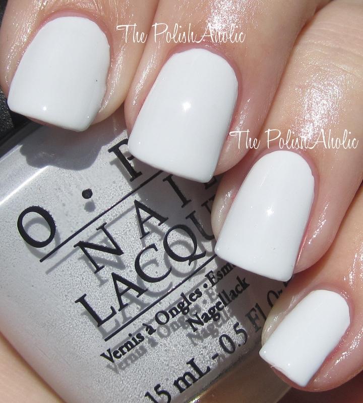 Opi Nail Polish White Shades – Papillon Day Spa
