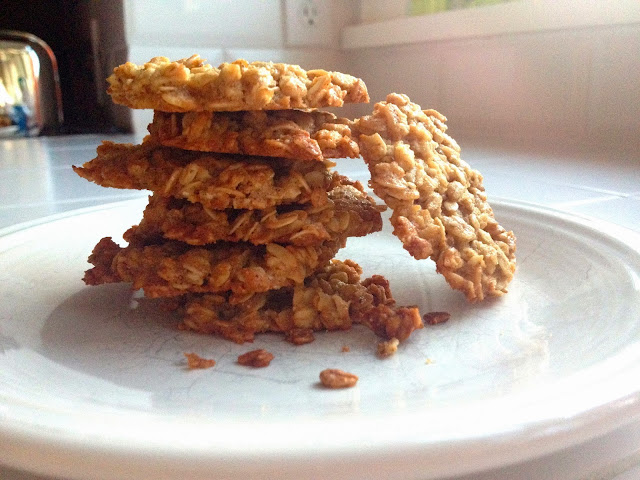 Oat & Ginger Cookies
