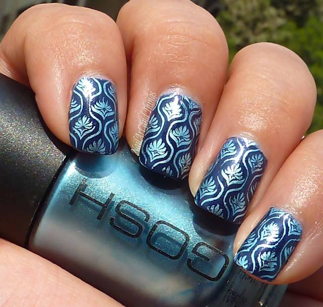 Stamping Nail Art Konad M83