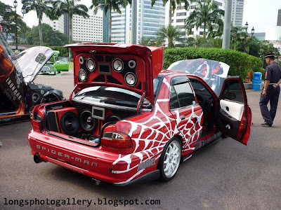 Modified Wira SE bodykit autoshow