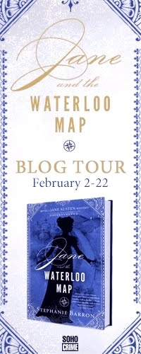 Jane and the Waterloo Map Blog Tour