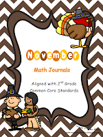 http://www.teacherspayteachers.com/Product/November-Daily-Math-Journal-Second-Grade-Common-Core-759878