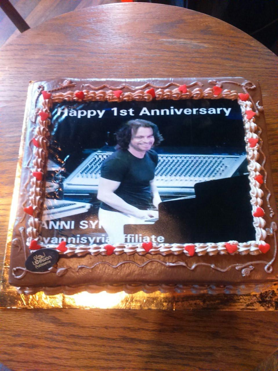 1st Anniversary of Yanni Syria