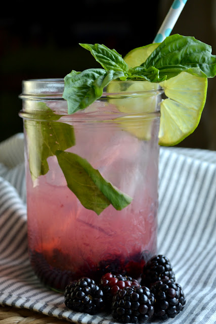 Blackberry Basil Lemonade recipe