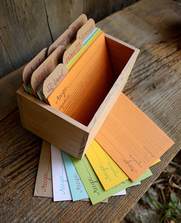 20 recipe cards to get you inspired