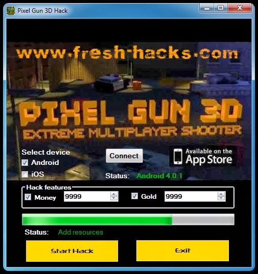 how to get unlimited coins in pixel gun 3d 2017
