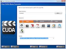 Free CUDA Video Converter free download