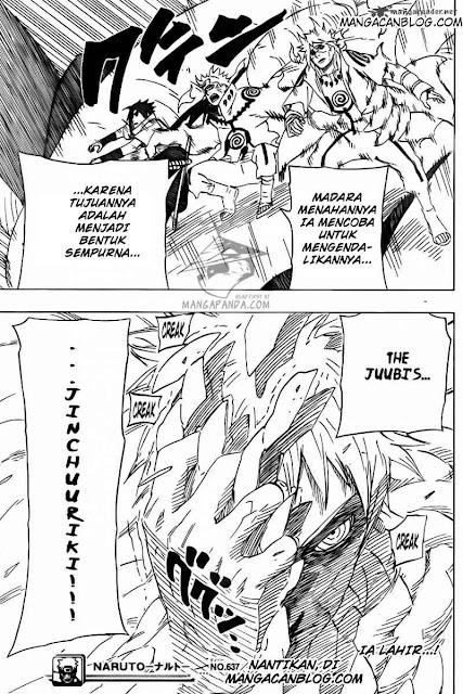 Komik Naruto 637 Bahasa Indonesia halaman 16