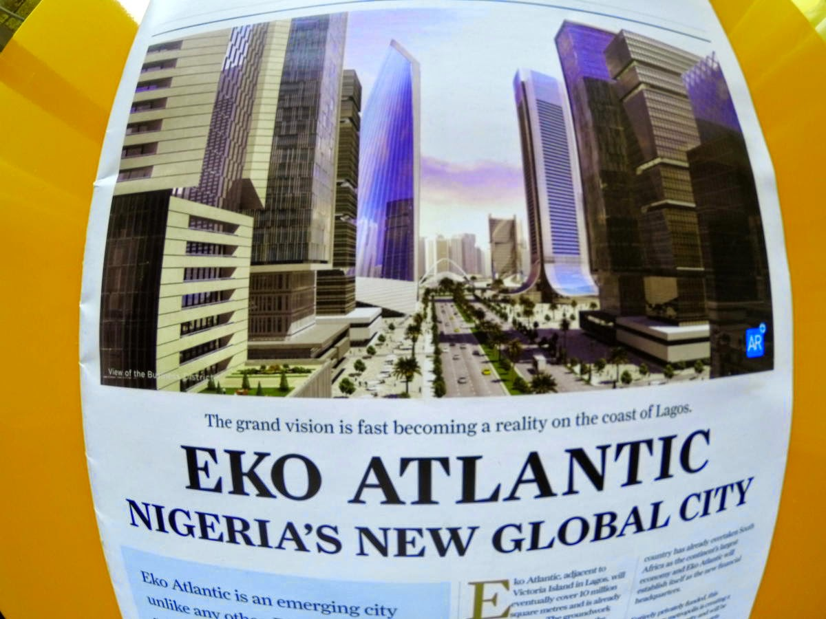 Eko Altantic, a future development of Lagos