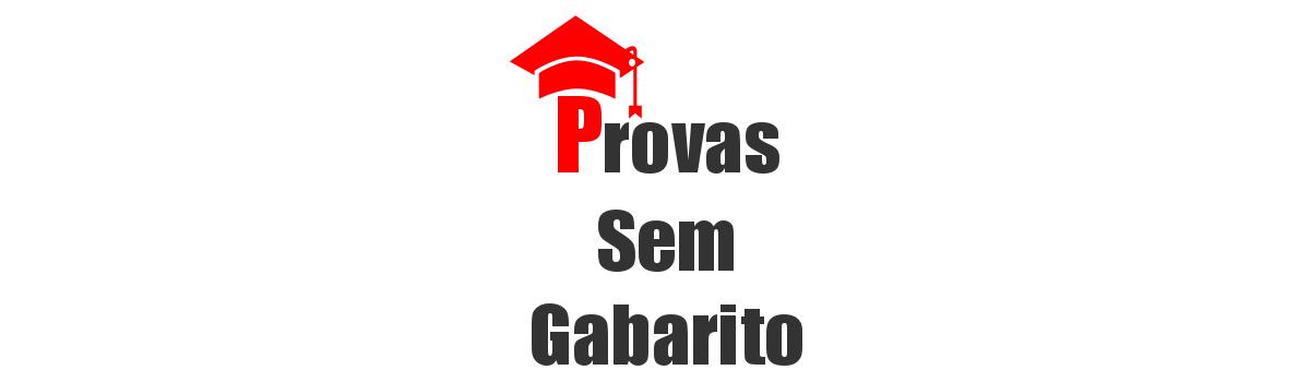 Provas Sem Gabarito