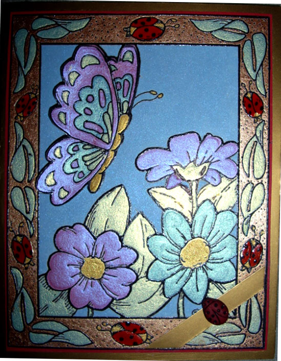 Easy Glass Pain... Easy Flower Designs For Glass Painting