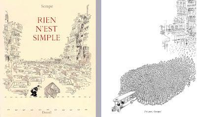 Sempé : Rien n'est simple (Denoël, Paris 1962)