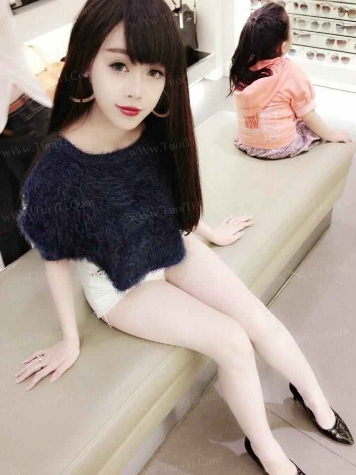 Ảnh gái xinh Ngọc Lena trắng trẻo ngon lắm đây! 11