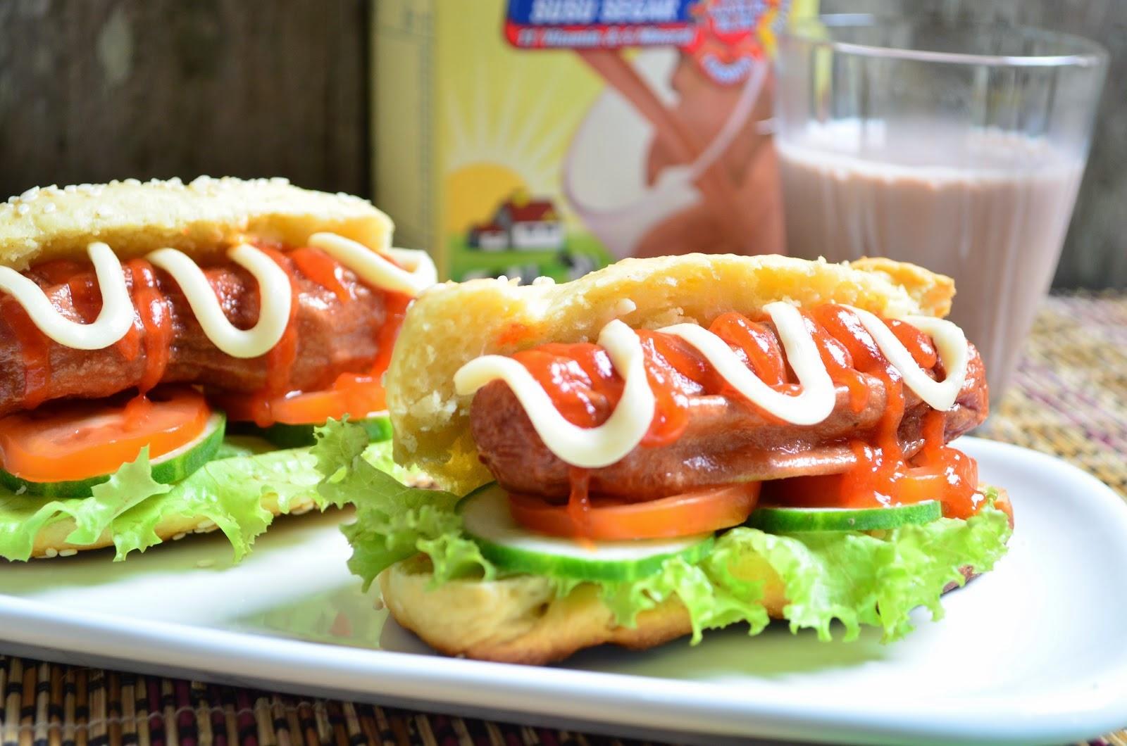 Resep hotdog