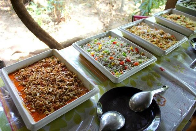 Wing bean salad Thai food