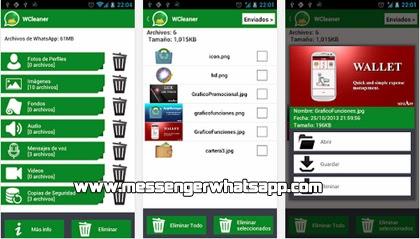 Limpia tu WhatsApp con WCleaner para WhatsApp