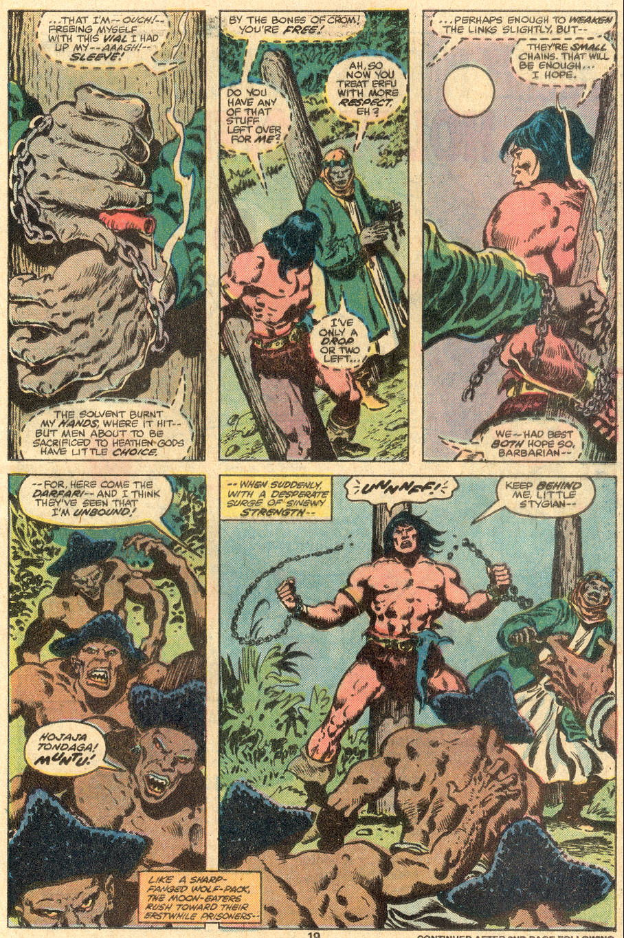Conan the Barbarian (1970) Issue #108 #120 - English 14