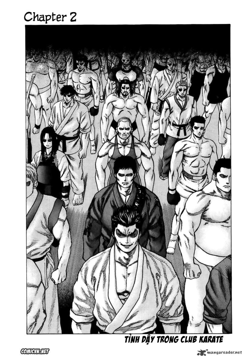 Karate Shoukoushi Kohinata Minoru chap 2 Trang 1