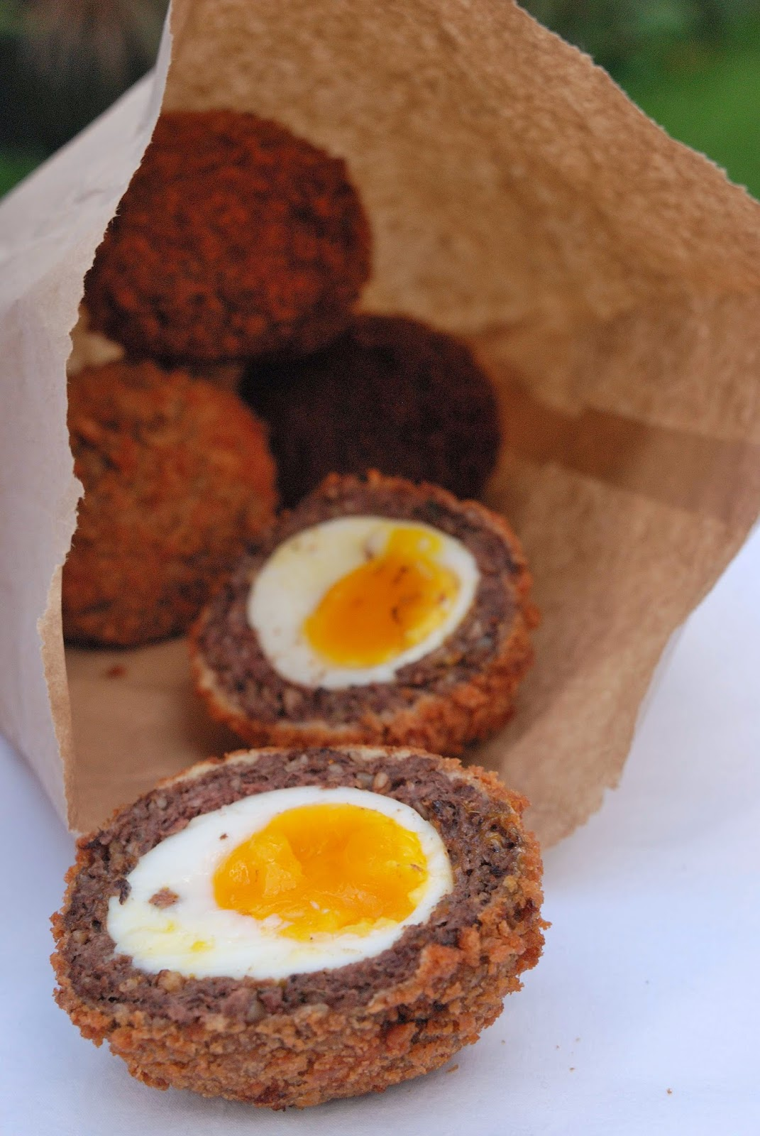 recette anglaise traditionnelle scotch egg