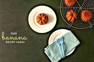 Banana Bundt Cake - KitchenWIP - Food Photography Friday Featuring tenthousandthspoon