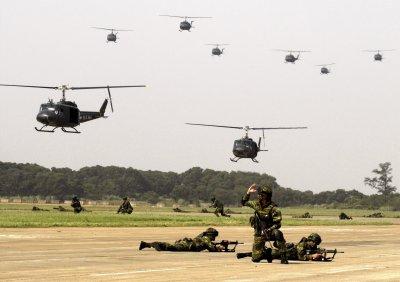 Panglima Komando Pertahanan Udara Nasional Gelar Latihan Pertahanan Udara