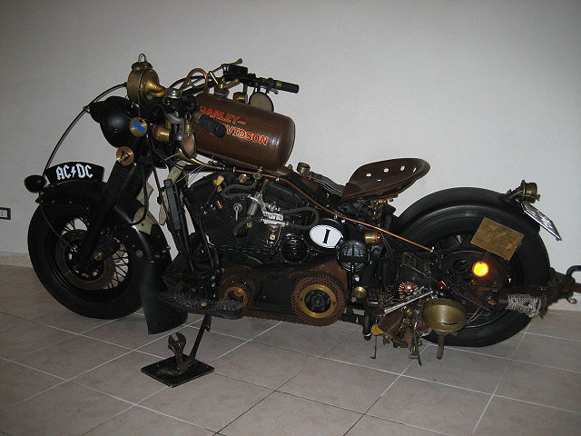 Motoblogn Steampunk Motorcycle Style