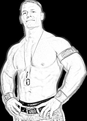 TESTE: Render Exclusivo Desenho John Cena