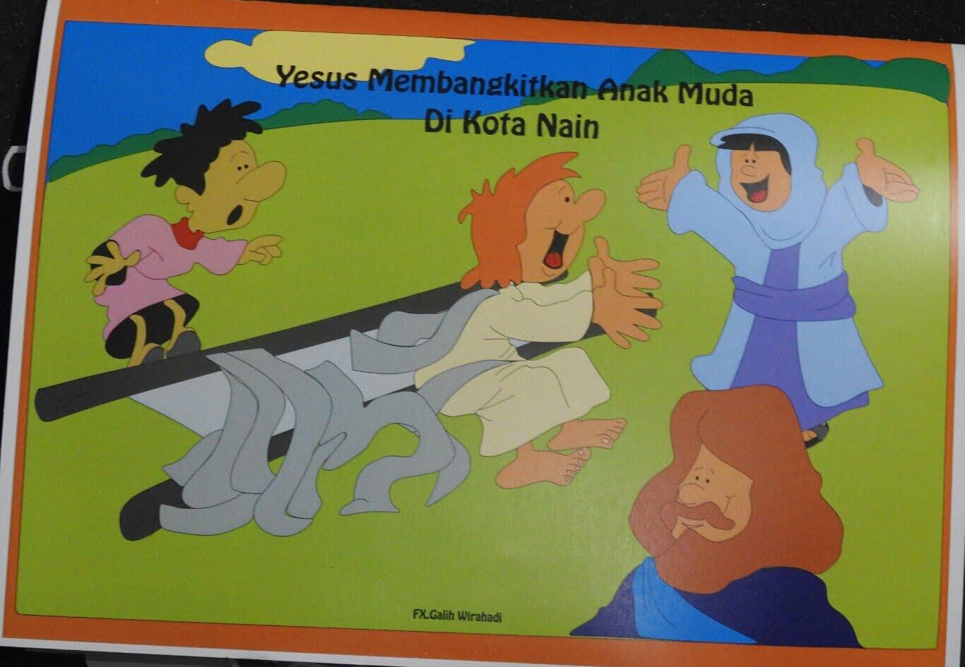 Buku Pop Up Yesus membangkitkan anak muda di kota nain