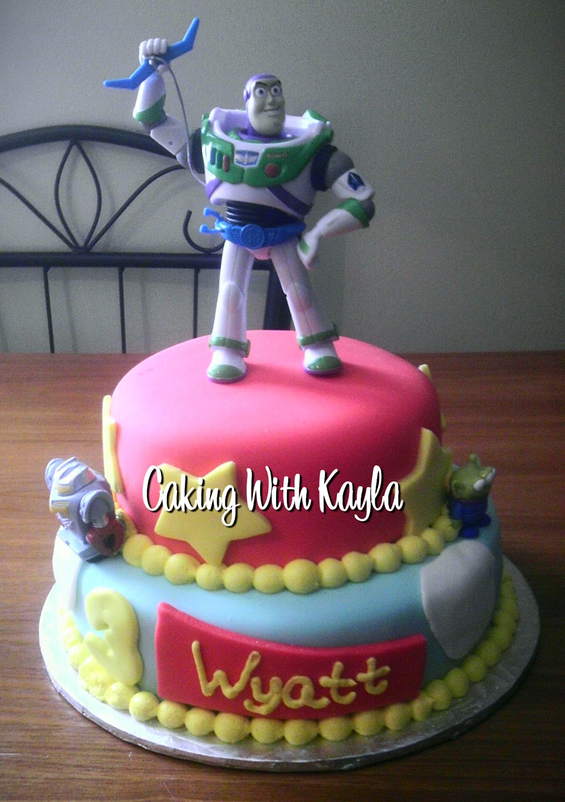 Caking With Kayla Buzz Lightyear Cake