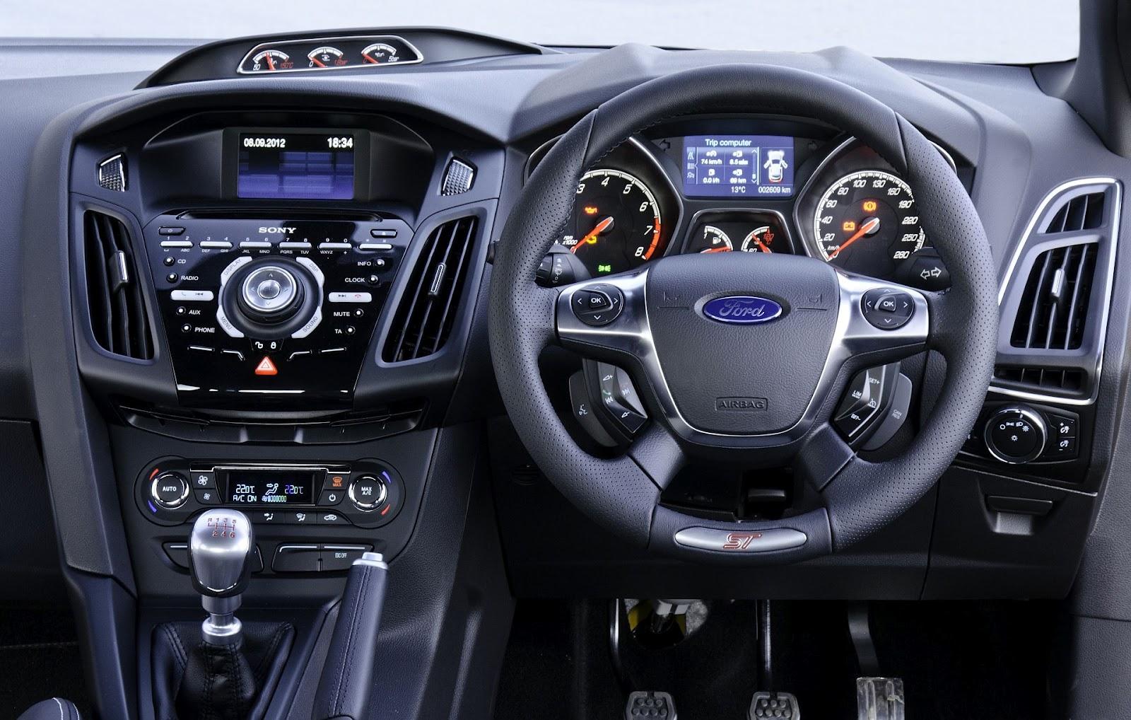 Ford focus st1 interior