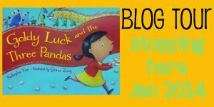 Goldy Luck and the Three Pandas Blog Tour