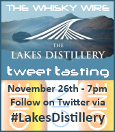 Lakes Distillery Tweet Tasting
