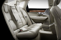 Volvo S90 T6 (2016) Rear Seats