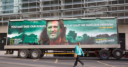 Paddy Power Advertising Roy Keane