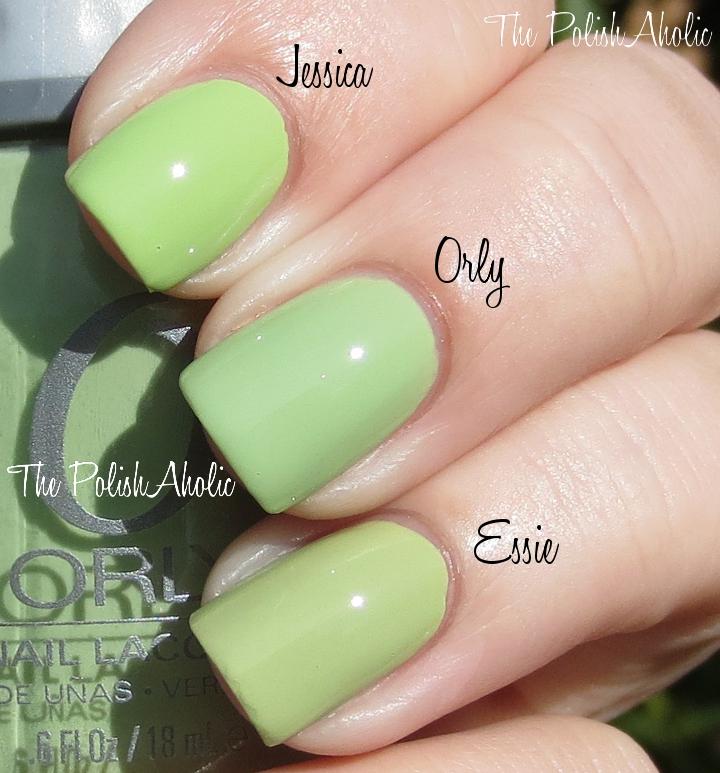 The PolishAholic: Spring 2013 Comparisons: OPI, China Glaze, Zoya & Orly